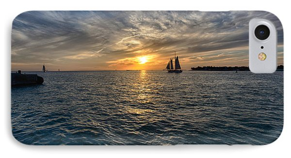 Key West Sunset IPhone Case by John Hoey