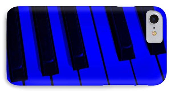 Keyboard Blues Phone Case by John Stephens