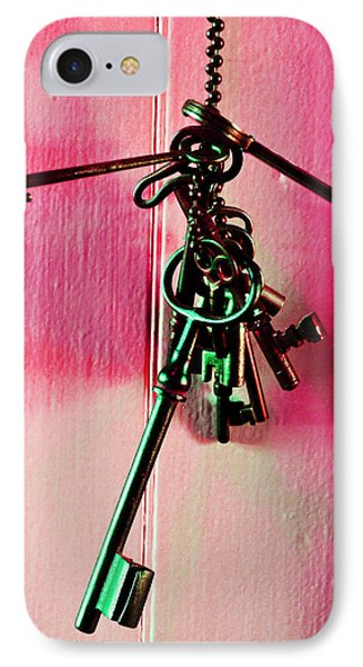 Keyed IPhone Case by Holly Blunkall