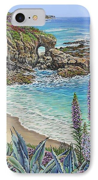 Keyhole Rock Laguna IPhone Case by Jane Girardot