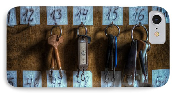 Keys IPhone Case by Nathan Wright