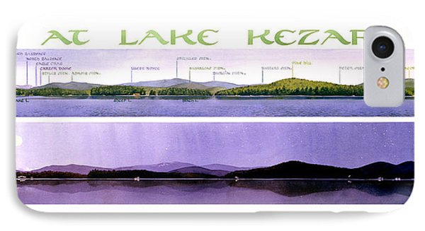 Kezar Lake View Phone Case by Mary Helmreich