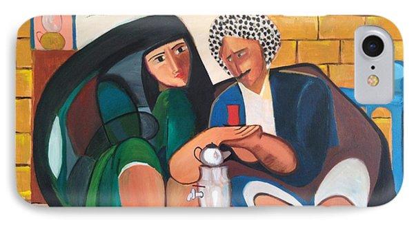 Khadri El Chai Khadri  IPhone Case by Rami Besancon