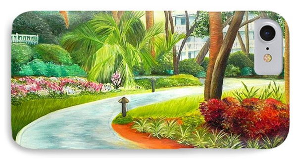 Kiawah Path - Kiawah Island Sc IPhone Case by Shelia Kempf