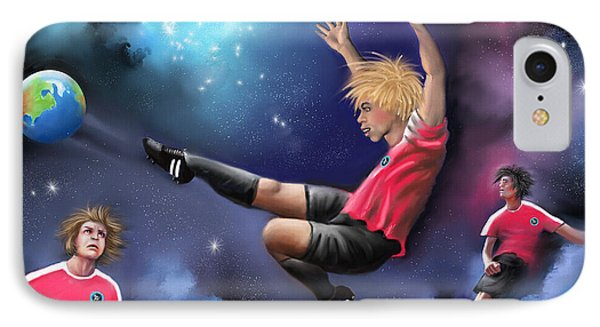 Kick Off IPhone Case by S G