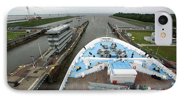 Kiel Canal IPhone Case by Adam Hart-davis