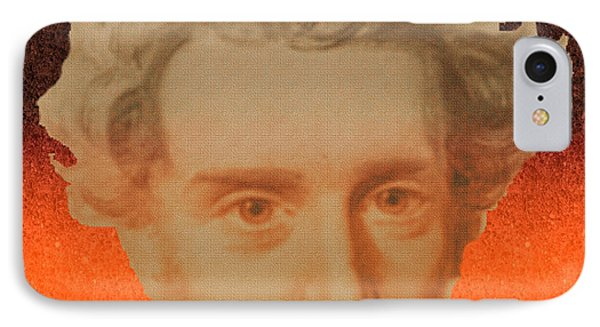 Kierkegaard IPhone Case by Asok Mukhopadhyay