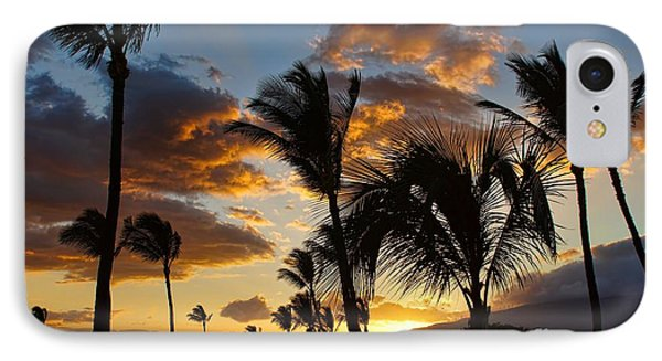 Kihei At Dusk IPhone Case by Peggy Hughes