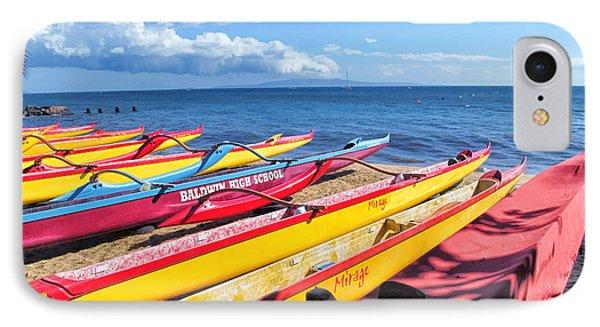 IPhone Case featuring the photograph Kihei Canoe Club 6 by Dawn Eshelman