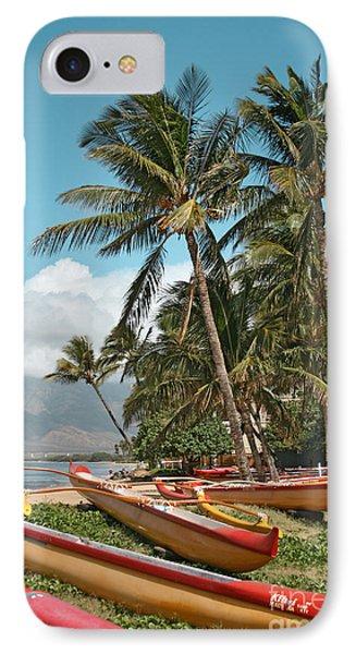 Sugar Beach Kihei Maui Hawaii IPhone Case
