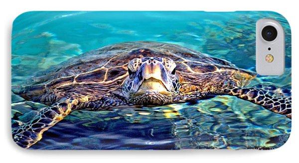Kiholo Turtle Phone Case by Bob Kinnison