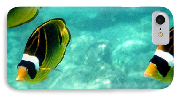 Kikapapu Fish In Ocean IPhone Case by Karen Nicholson
