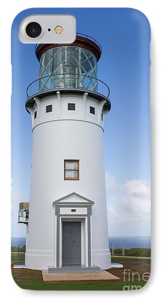 Kilauea Lighthouse IPhone Case by Suzanne Luft