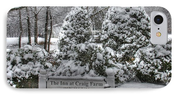 Kilburnie Inn At Craig Farm IPhone Case by Andy Lawless