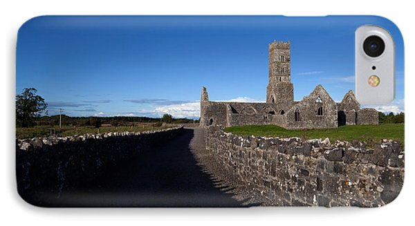 Kilconnell Friary Founded In 1353 IPhone Case by Panoramic Images