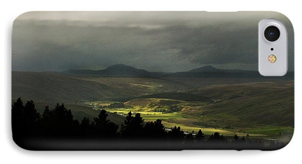 IPhone Case featuring the photograph Kildonan Strath Northern Highlands Of Scotland by Sally Ross