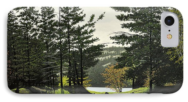 IPhone Case featuring the painting Killarney by Kenneth M  Kirsch