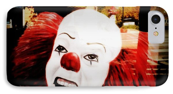 Killer Clowns On The Loose IPhone Case by Kelly Awad