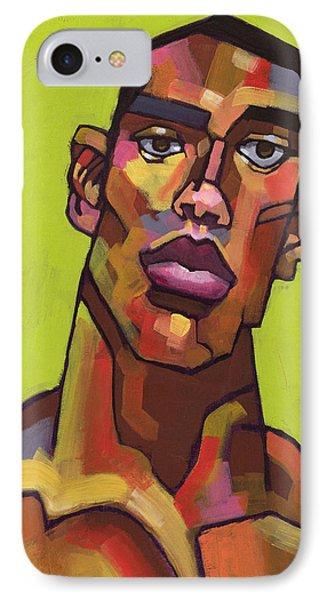 Portraits iPhone 7 Case - Killer Joe by Douglas Simonson