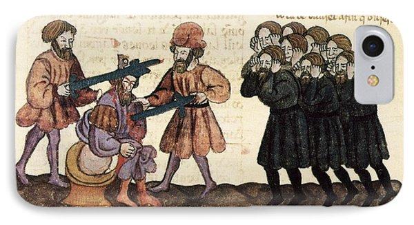 Killing Of King Belshazzar, 1430 Artwork IPhone Case