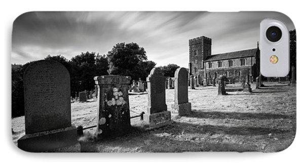 Kilmartin Parish Church Phone Case by Dave Bowman