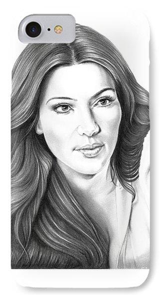 Kim Kardashian IPhone Case by Murphy Elliott