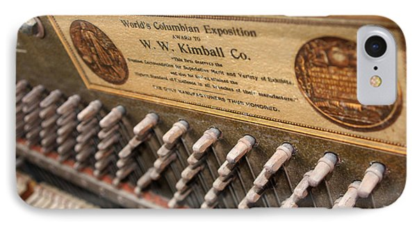 Kimball Piano-3476 Phone Case by Gary Gingrich Galleries