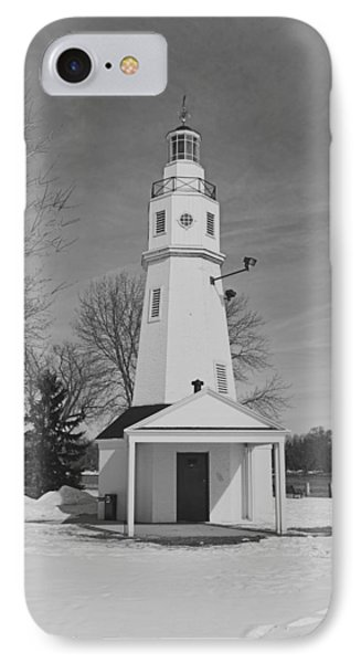 Kimberly Point Lighthouse IPhone Case by Thomas Young