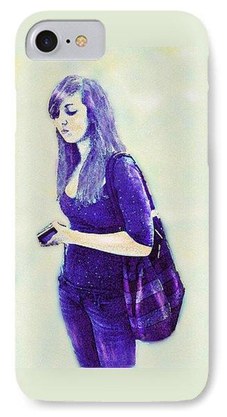 Kind Of Blue Phone Case by Jane Schnetlage