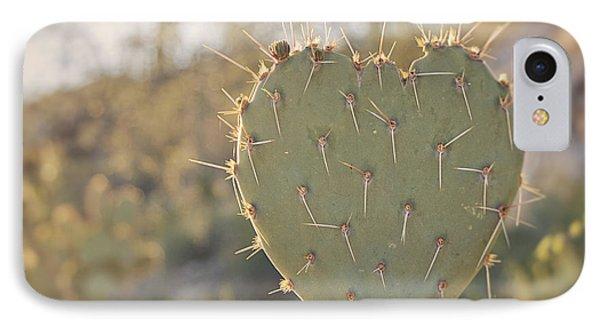 Kinda Heart Cactus IPhone Case