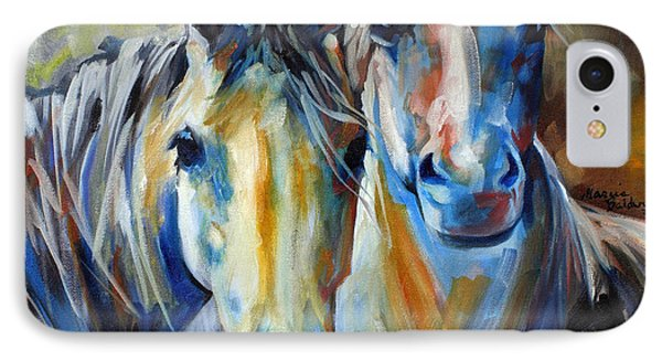 Kindred Souls Equine IPhone Case by Marcia Baldwin