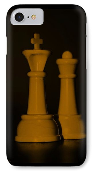 King And Queen In Orange Phone Case by Rob Hans