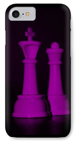 King And Queen In Pink Phone Case by Rob Hans