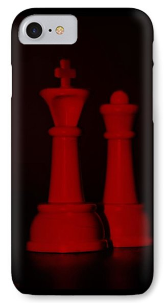 King And Queen In Red Phone Case by Rob Hans