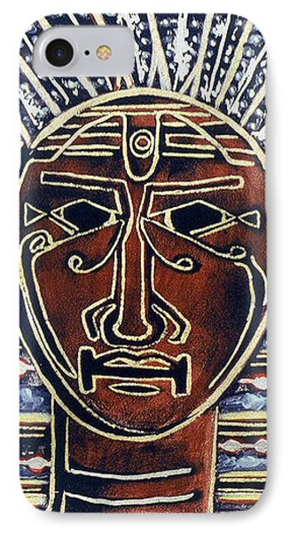 King IPhone Case by Carolyn Goodridge