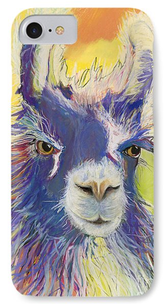 King Charles IPhone Case by Pat Saunders-White