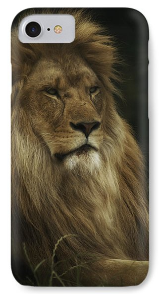 King IPhone Case by Chris Boulton