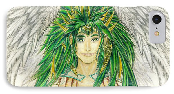 King Crai'riain Portrait IPhone Case by Shawn Dall