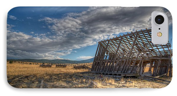 King Homestead Barn Phone Case by Joe Hudspeth