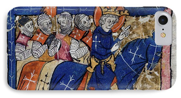 King Leading Crusaders IPhone Case by British Library
