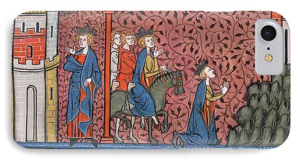 King Louis Ix Of France IPhone Case by British Library