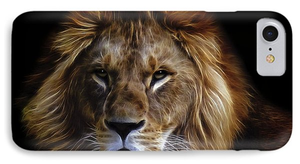 King Of Africa IPhone Case by Daniel Hagerman