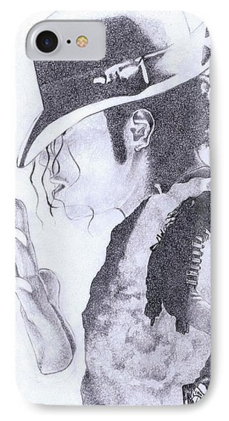 King Of Pop IPhone Case by Paul Smutylo