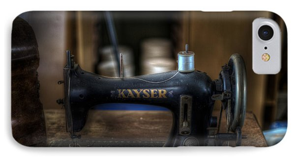King Of Sewing Machines IPhone Case by Nathan Wright