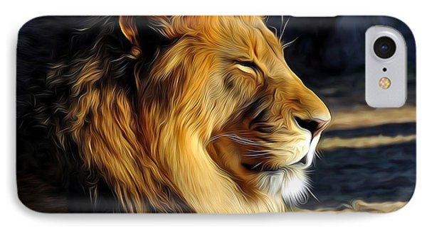 King Of The Beasts IPhone Case
