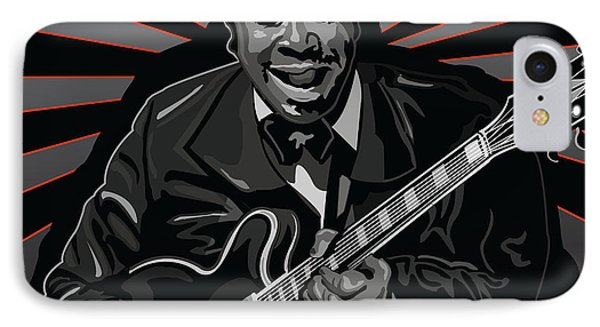 King Of The Blues Phone Case by Larry Butterworth