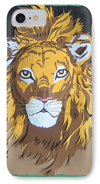 King Of The Jungle Phone Case by John Hebb