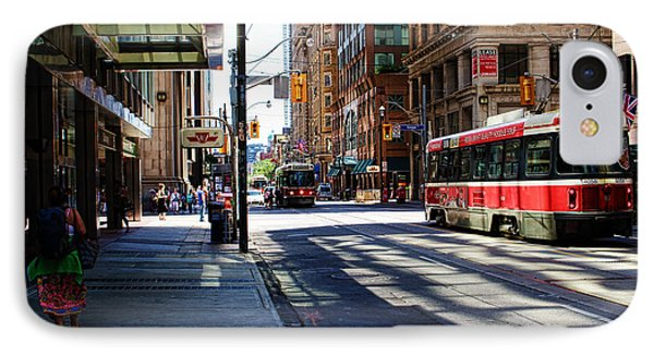 King Street East IPhone Case by Nicky Jameson