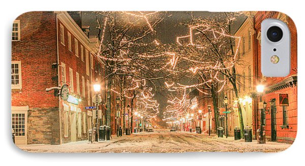 King Street IPhone Case by JC Findley