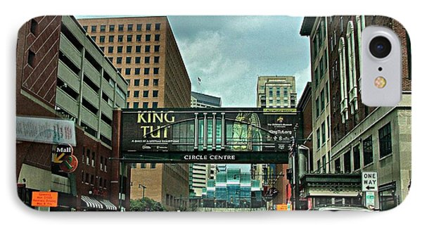 King Tut In Indy Phone Case by Julie Dant